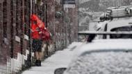 Schnee erwischt die Briten eiskalt