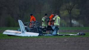 Zwei Tote bei Absturz von Ultraleichtflieger