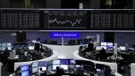 Die Dax-Anzeige an der Börse in Frankfurt