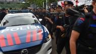 Der indonesische Präsident will Härte zeigen