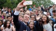 Emmanuel Macron ist gewissermaßen ein politischer Influencer.