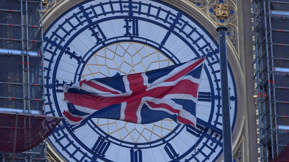 Teurer Glockenschlag: Big Ben wird derzeit restauriert.