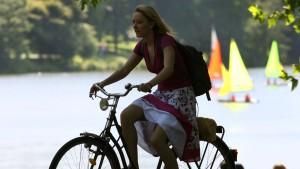 In Münster fühlen sich Radfahrer am wohlsten