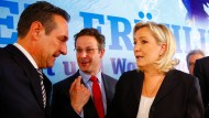 Rechte Politiker  wollen Referenden in allen EU-Staaten