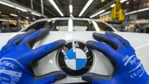 Rückruf für BMW-Dieselautos