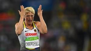 Debakel für deutsche Speerwerferinnen