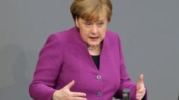 Merkel: Deutschland geht es nur gut, wenn es Europa gut geht