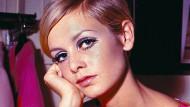 Für die Zeitschriftencover: Das Model Twiggy im Jahr 1967