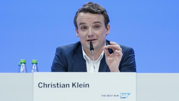 SAP-Aktienkurs steigt um 5 Prozent