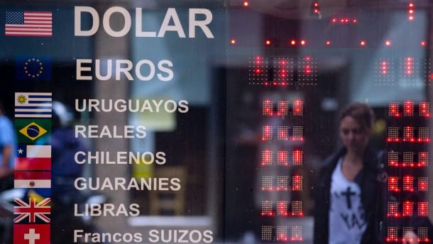 Währungen im freien Fall