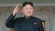 Und eine 1 in Kim-Jong-un-Kunde