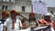 Bestrafung Ecuadors gefordert