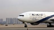 Eine Maschine der israelischen Airline El Al