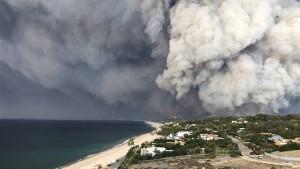 Malibu ist in Gefahr