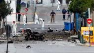Autobombe detoniert in Athen