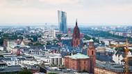 So sieht Frankfurt von oben aus: Wie könnte sich das Stadtbild verändern?