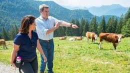 Söder will Agrarwende nach bayerischem Vorbild