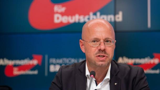 AfD-Landeschef Kalbitz droht möglicherweise Parteiausschluss
