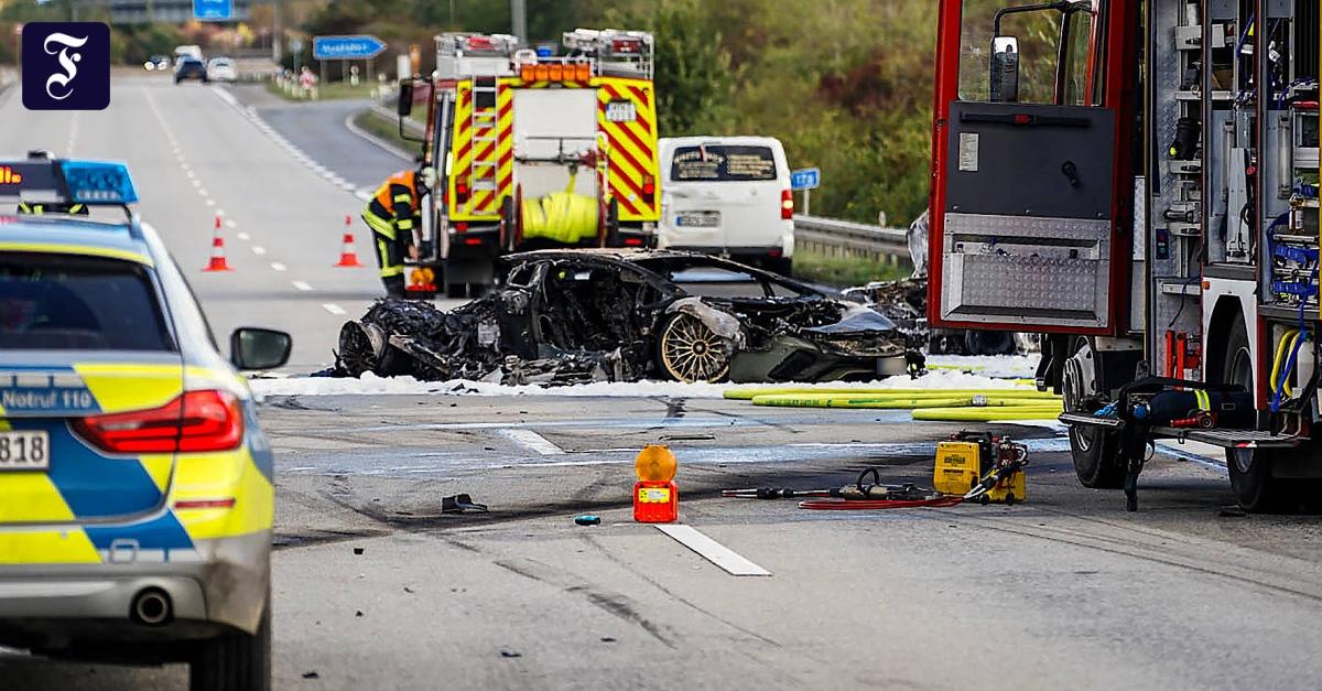A66 bei Hofheim: Ein Toter nach illegalem Rennen auf Autobahn