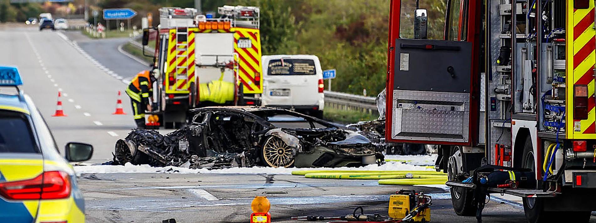 Nach zweitem Lamborghini-Fahrer wird weiter gefahndet