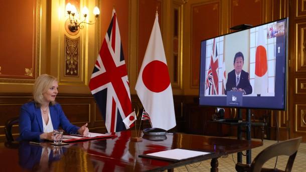 London und Tokio schließen Handelsabkommen