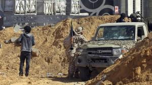 Kämpfe erschweren Lage der Flüchtlinge in Libyen