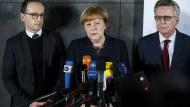 Merkel stolz auf besonnene Reaktion der Menschen