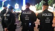 Polizeibeamte auf dem Oktoberfest