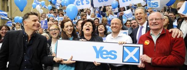 Befürworter der Unabhängigkeit Schottlands