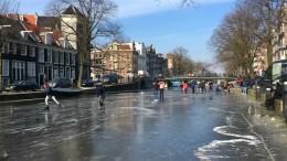 Eis und Schnee bringen Ärger und Spaß
