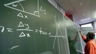 Mathematikunterricht am Justus-Liebig-Gymnasium in Darmstadt.