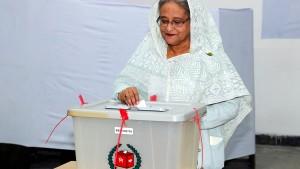 Regierungschefin Hasina gewinnt Wahl