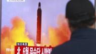 Ein weiterer Raketentest fehlgeschlagen
