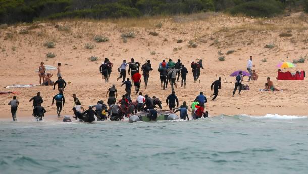 Die Furcht vor einem neuen Lampedusa