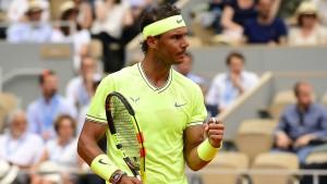 Nadal gegen Federer im Halbfinale der French Open