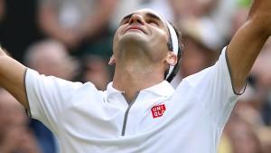 Das Meisterstück des Roger Federer