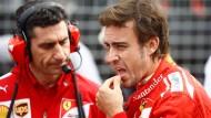 (Fast) Alles beim Alten: Alonso fährt hinterher