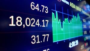 Dow Jones steigt so hoch wie noch nie