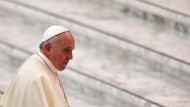 Papst auf dem Weg in die Türkei