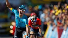 Nielsen holt den Doppelsieg für Astana