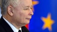Kaczynski fühlt sich von EU-Kommission belustigt