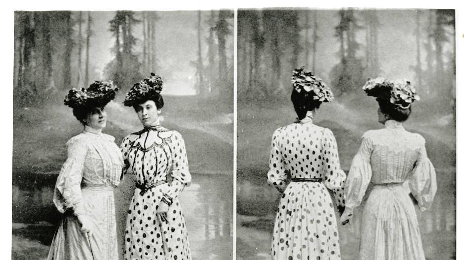 Mit Schirm und Hut: Sommerkleider aus der Saison 1902 im Bad Homburger Kurbad
