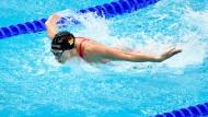 Schwimmt ins Finale: Aliena Schmidtke