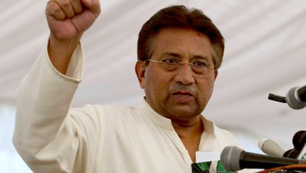 Lebenslanges Politikverbot für Musharraf