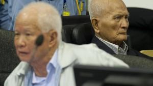Rote-Khmer-Anführer zu lebenslanger Haft verurteilt