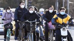 Zahl neuer Coronavirus-Fälle in China auf tiefstem Stand seit einem Monat
