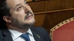 Immunität von Lega-Chef Salvini aufgehoben