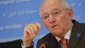 Schäuble: Die Wirtschaft läuft besser als ihr Ruf