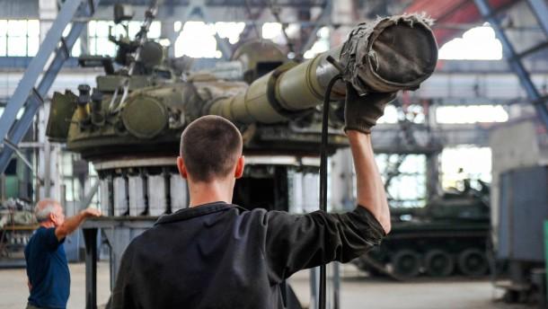Weltweite Rüstungsproduktion legt zu