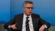 Bundesinnenminister Thomas de Maizière findet im Streit mit der Türkei klare Worte.